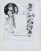Large Boston Public Garden Sketchbook: Design for an advertisement for a tearoom
