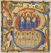 The Trinity in an Initial B