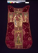 Chasuble Back with an Orphrey