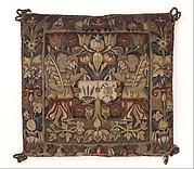 Cushion Cover with Coats of Arms