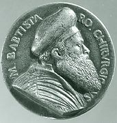 Medal: Battista Vigo da Rapallo or Baptista Romanus