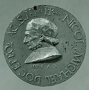 Medal:  Niccolo Michiel