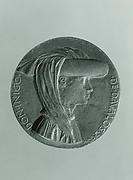 Medal: Don Inigo d'Avalos (obverse); Sphere Representing Earth, Sea, and Sky (reverse)