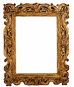 Sansovino-style frame
