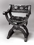 Back, Seat and Cushion of a Dante Chair