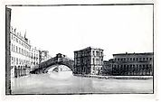 The Grand Canal with the Rialto Bridge, from the North