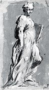 Allegorical Figure of a Woman