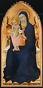 Engaged molding on a polyptych panel