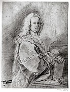 Portrait of a Man Holding a Pen