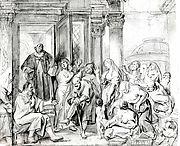 Saint Philip Healing the Cripple in Samaria