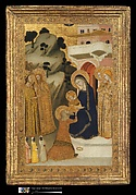 Panel from a polyptych