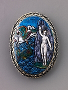 Watchcase cover: Perseus and Andromeda
