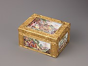 Snuffbox with Pastoral Scenes