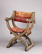 Hip-joint armchair (sillón de cadera or jamuga)