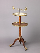 Candlestand and holder (guéridon)