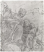 The Holy Family with the Young Saint John the Baptist