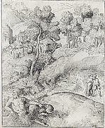 Landscape with a Satyr