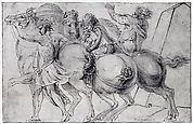 Frieze with Three Horsemen