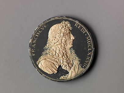 Model for medal of Francesco Redi