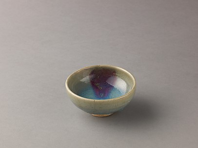 Small bowl, Jun ware
