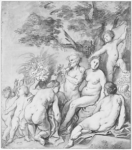 Allegory of Fertility (Recto)
