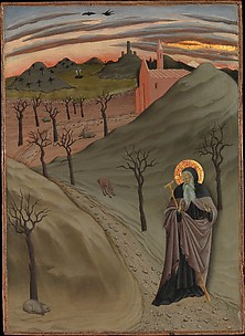 Saint Anthony the Abbot in the Wilderness