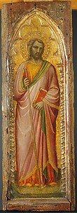 A Saint, Possibly James the Greater