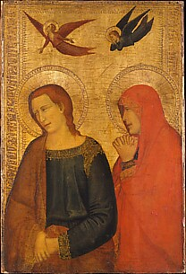 Saints John the Evangelist and Mary Magdalene
