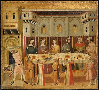 The Feast of Herod and the Beheading of the Baptist