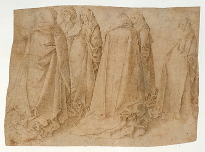 Group of Draped Figures