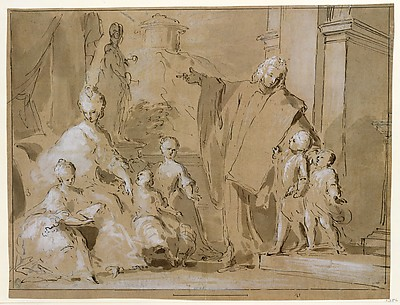 A Venetian Family Portrait Group
