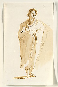 Standing Figure of a Youth