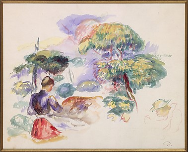 Landscape with a Girl