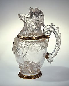 Ewer in the Shape of a Sitting Dog