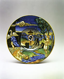 Armorial dish: The story of Phaeton