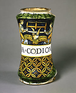 Pharmacy Jar (albarello)