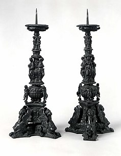 Altar candlestick (pair with .1382)