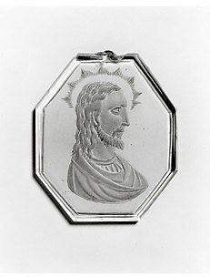 Pendant with head of Christ