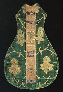 Chasuble Front with an Orphrey Band