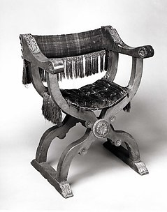 Back, Seat, and Cushion of a Dante Chair