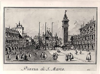 Piazza San Marco, Looking toward the Basicila
