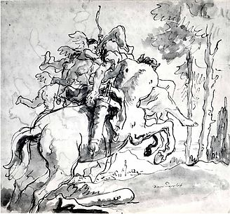 Centaur Carrying Off a Nymph