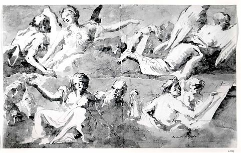 Frieze of Allegorical Figures