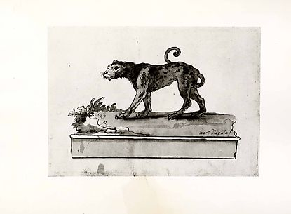 A Leopard, Moving to the Left (on a Base)