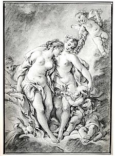 Nymphs and Cupids