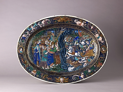 Dish: The Destruction of the Hosts of Pharaoh