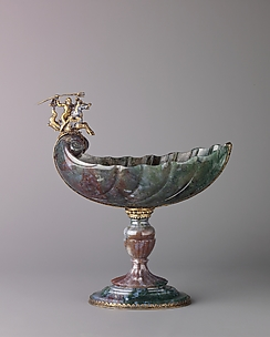 Standing Cup with Neptune on a Seahorse