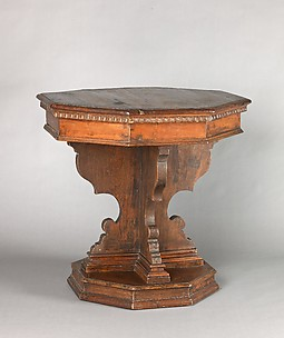 Small octagonal table