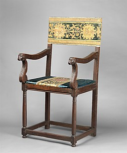 Armchair (chaise à bras, pair with 1975.1.2001)