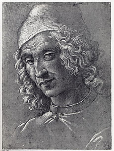 Head of a Man Wearing a Cap